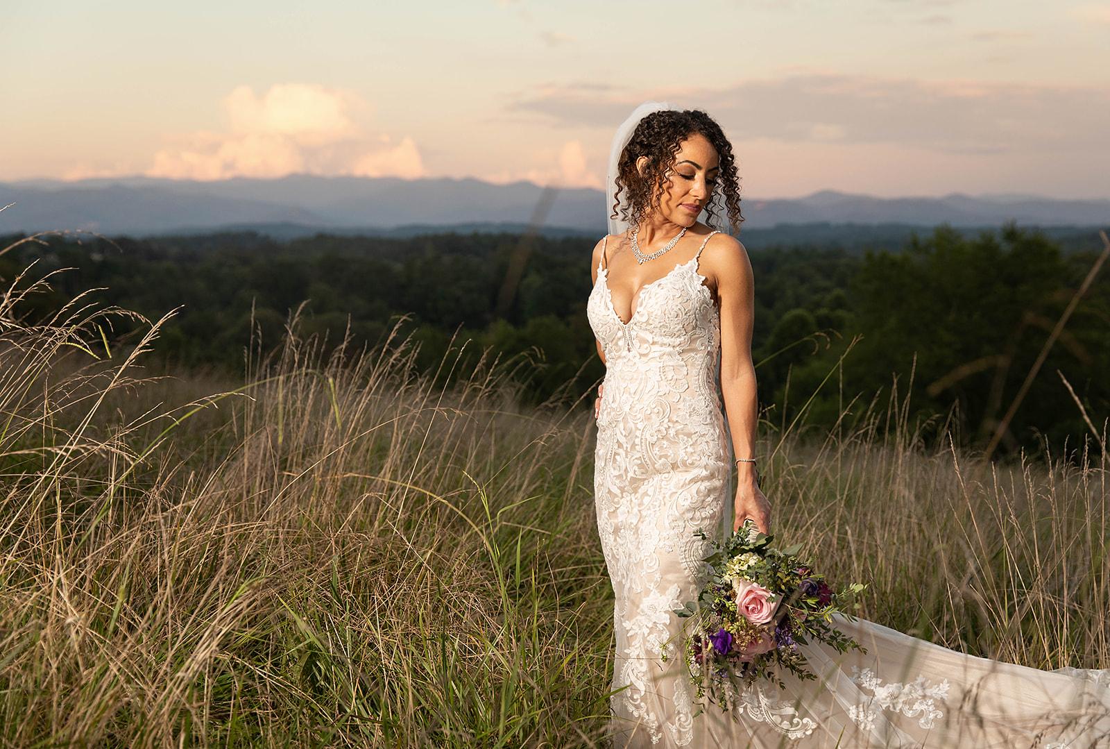 Bride Mountain Wedding