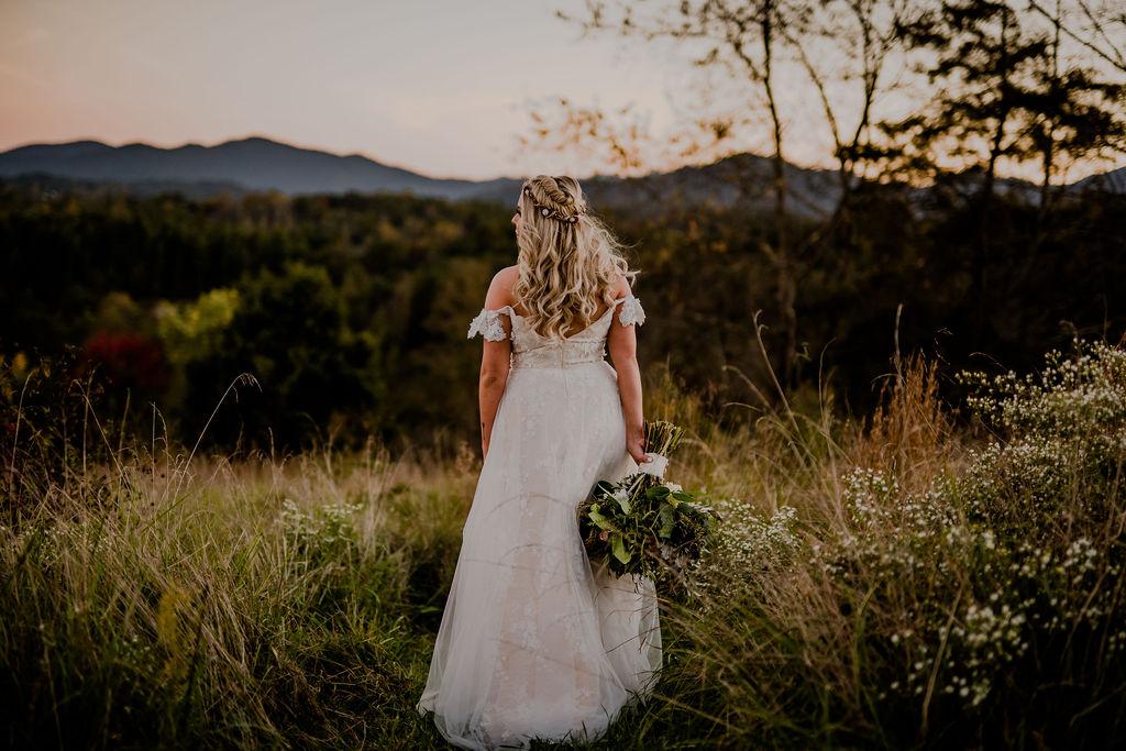 western north carolina mountain wedding