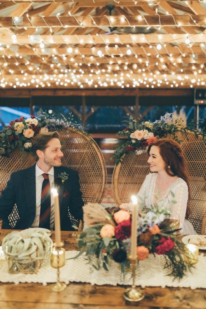 Bohemian Sweetheart Table