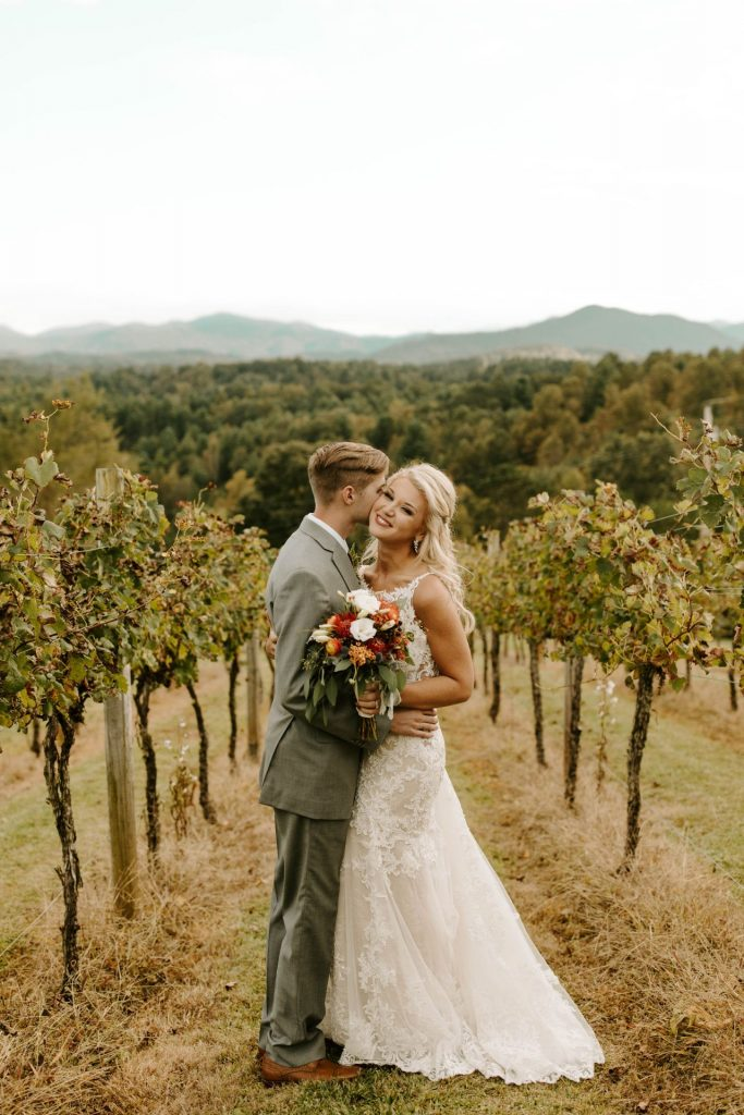 Bride and Groom Vineyard
