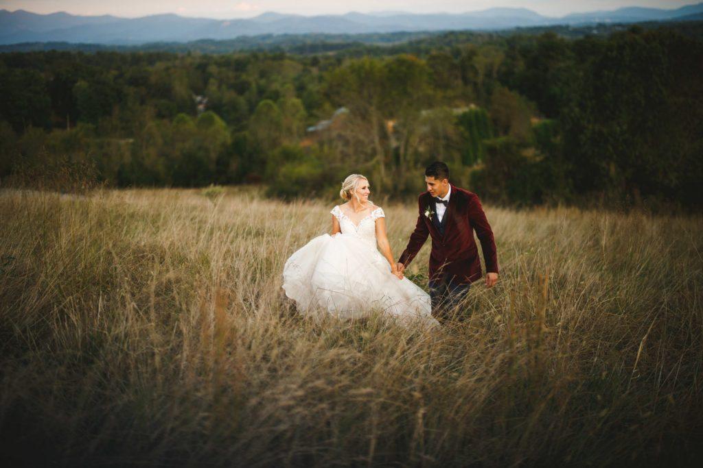 mountain meadow wedding