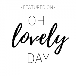 Oh Lovely Day Badge